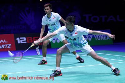 Kalahkan Pasangan Malaysia, Fajar Rian Amankan Satu Tempat di Babak Perempatfinal