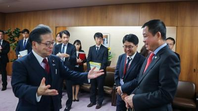 Menteri Jonan Ajak Jepang Kembangkan Green Energy
