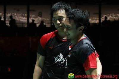 Rekor Pertemuan Fajar Rian vs Ahsan Hendra