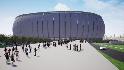 Rampung 2021, Wika Gedung Garap Proyek Stadion BMW Rp4 Triliun