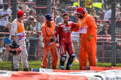 Manajer Ungkap Kondisi Terbaru Dovizioso Usai Kecelakaan Parah di Silverstone