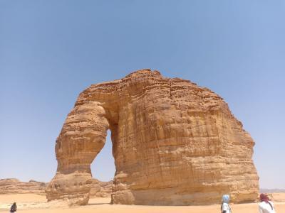 Berwisata ke Jabal Al Feel, Lihat Gunung Gajah!