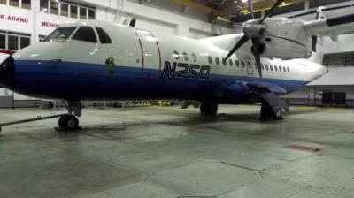Mengenal Pesawat N-250 Gatot Kaca Karya BJ Habibie