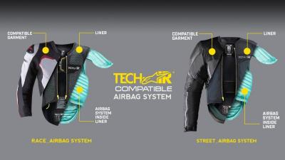 Pentingnya Perangkat Keselamatan Aktif Airbag yang Selamatkan Bikers