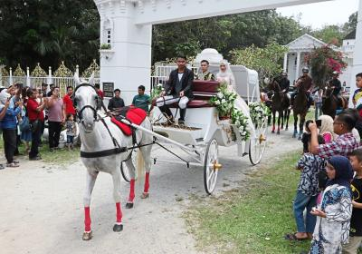 Intip Pernikahan ala Princess Warga Malaysia, bak di Negeri Dongeng