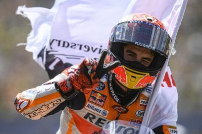 Marquez Tak Terbuai dengan Posisi Pertama di Klasemen Sementara