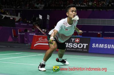 Libas Wakil Jepang, Anthony Ginting Lolos ke Babak 16 Besar China Open 2019