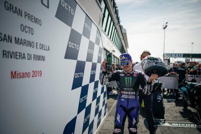 Podium di Misano Buat Vinales Makin Pede Tatap MotoGP Aragon 2019
