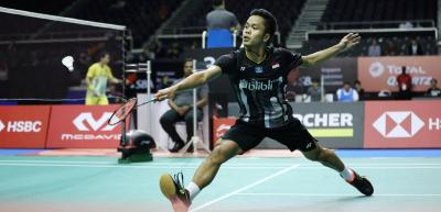 Jumpa Wakil India di 16 Besar China Open 2019, Anthony Tak Ingin Lengah