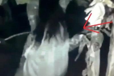 Viral Kuntilanak Terekam Kamera di Lampung, Percaya?