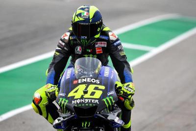 Rossi Bahagia Lihat Hasil Hari Pertama Sesi Latihan Bebas MotoGP Aragon