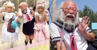 Kakek 57 Tahun Dandan Cosplay ala Sailor Moon, Gayanya Kawai Banget!