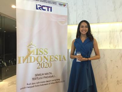 Audisi Miss Indonesia 2020, Gadis Cantik Ini Ingin Beri Dampak Positif bagi Indonesia