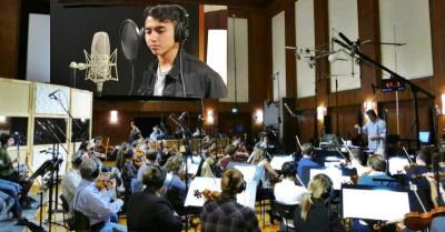 Vadi Akbar dan Gita Gutawa Terkesan Rekaman dengan Orkestra Terbaik Vienna
