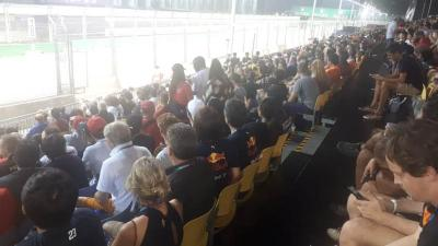 Banyak Pendukung Tim Red Bull Racing di F1 GP Singapura 2019
