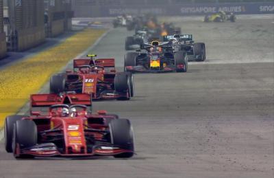 Hasil Race F1 GP Singapura 2019