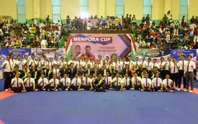 Ketum PBTI Resmi Buka Kejuaraan Taekwondo Piala Menpora