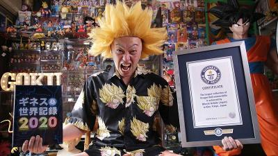 Hitoshi Uchida, Kolektor Lebih dari 10 Ribu Action Figure Son Goku
