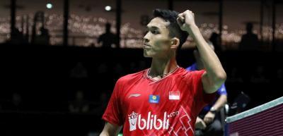 Ingin Samai Pencapaian Tahun Lalu, Jonatan Bidik Semifinal di Korea Open 2019