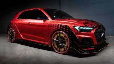 Modifikasi Lengkap Audi A1 Hasil Racikan Tuner ABT Bikin Mobil Ganteng Maksimal