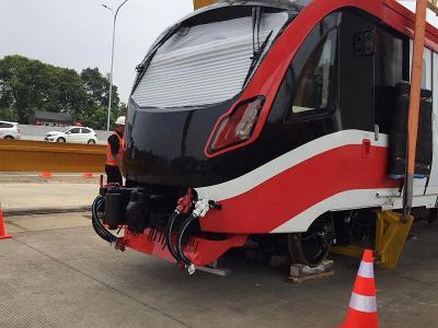 Tampil Berbeda, Kereta LRT Jabodebek Lebih Sangar