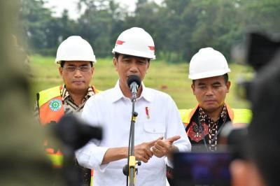 Resmikan 'Tol Langit', Jokowi Minta Jangan Dipakai untuk Sebar Kebencian dan Hoaks