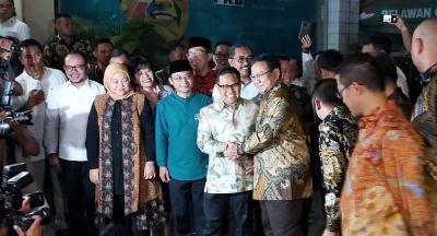 Kedekatan Prabowo dengan Ketum Parpol Koalisi