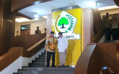 Airlangga: Prabowo & Golkar Punya Banyak Kesamaan
