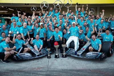 Hamilton Merasa Gelar Konstruktor F1 2019 Tak Spesial seperti Musim Lalu