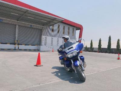 Kampanye Safety Riding Khusus Moge Digelar Astra Honda Jateng di Semarang