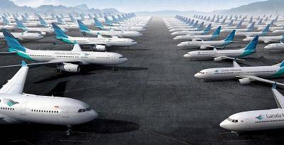 Pesawat 737 NG Retak, Garuda Minta Ganti Rugi ke Boeing