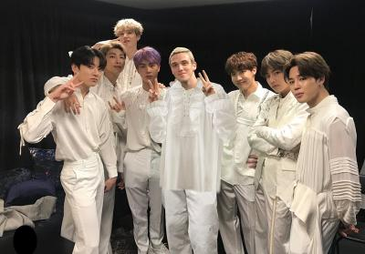 Gandeng LAUV, BTS Akan Rilis Versi Remix Make It Right