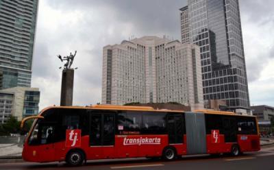 Transjakarta Kembali Gunakan Bus Zhongtong