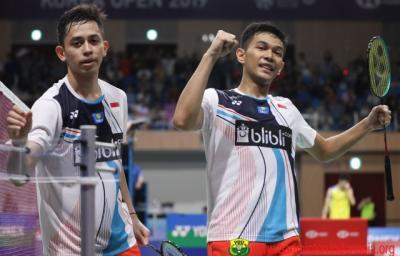 Taklukkan Wakil China, Fajar Rian Lolos ke Babak Ke-2 Denmark Open 2019