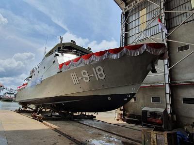 Mengintip Kapal Patroli Made in RI Senilai Rp86 Miliar