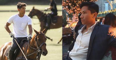 Pesona Pangeran Abdul Mateen, Tamu Pelantikan Presiden Paling Ganteng di Istana Negara