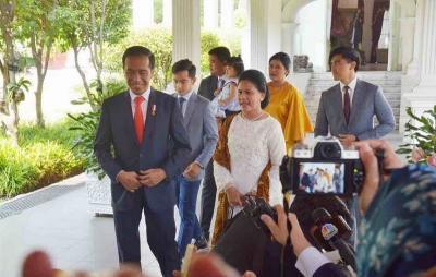 Jan Ethes Absen di Pelantikan Jokowi, Netizen: Ponakan Onlineku Mana?