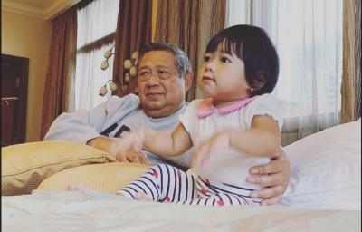Tak Kalah dengan Jan Ethes, Ini Potret Menggemaskan Cucu SBY, Gayatri Yudhoyono
