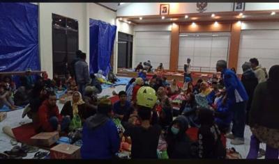 Angin Kencang Rusak Bangunan di Kota Batu, 550 Warga Mengungsi