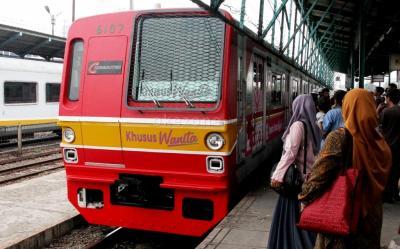 KRL Tanah Abang-Rangkasbitung Kembali Normal Pukul 19.00 WIB