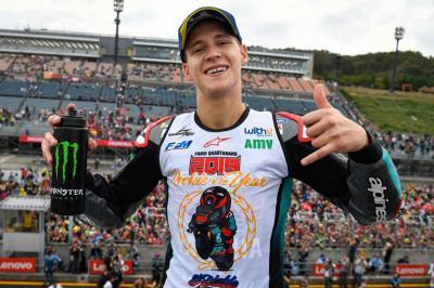 Finis Kedua di Motegi, Quartararo Pastikan Gelar Rookie of The Year MotoGP 2019