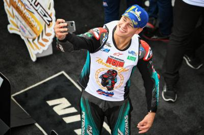 Jadi Rookie of The Year MotoGP 2019, Quartararo: Ini Jauh dari Perkiraan
