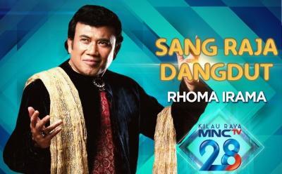 Rhoma Irama Doakan Indonesia di Kilau Raya MNCTV