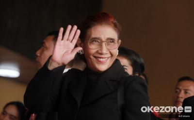 Viral Video Susi Pudjiastuti Joget 'I Want to Break Free'