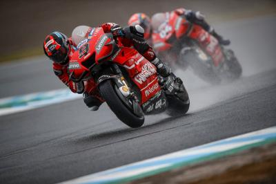Petrucci Ungkap Kendalanya di Atas Motor Ducati