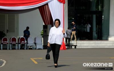Obrolan Jokowi dan Sri Mulyani di Istana, Cari Cara Dorong Perekonomian