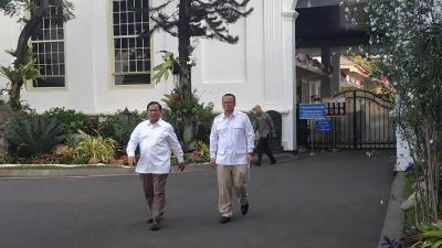 PAN Anggap Prabowo Sudah Punya Pertimbangan dengan Jadi Menteri Jokowi