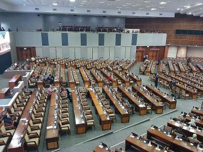 DPR Gelar Paripurna Penetapan Alat Kelengkapan Dewan Periode 2019-2024