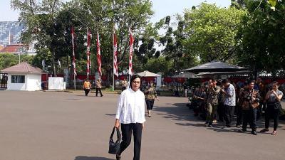 Sri Mulyani Sambut Panggilan Jokowi ke Istana dengan Senyum