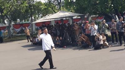 Tiba di Istana, Syahrul Yasin Limpo Sudah Izin Surya Paloh